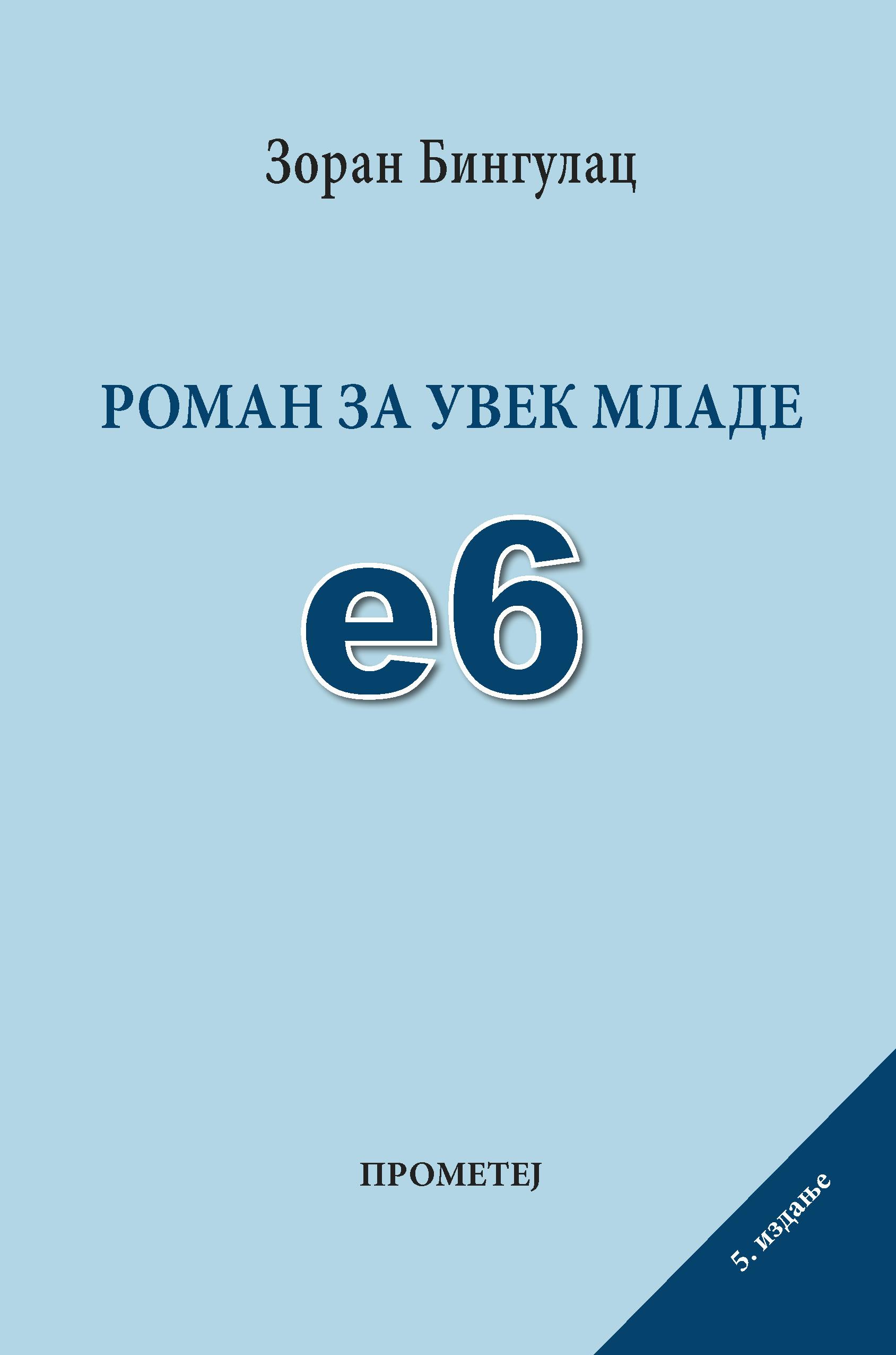 Е-6 Роман за увек младе