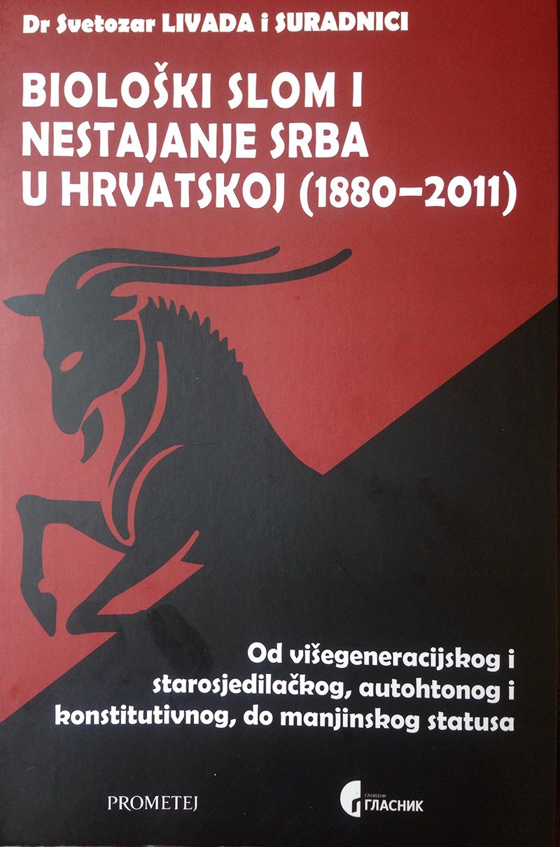 Биолошки слом и нестајање Срба у Хрватској (1880–2011)