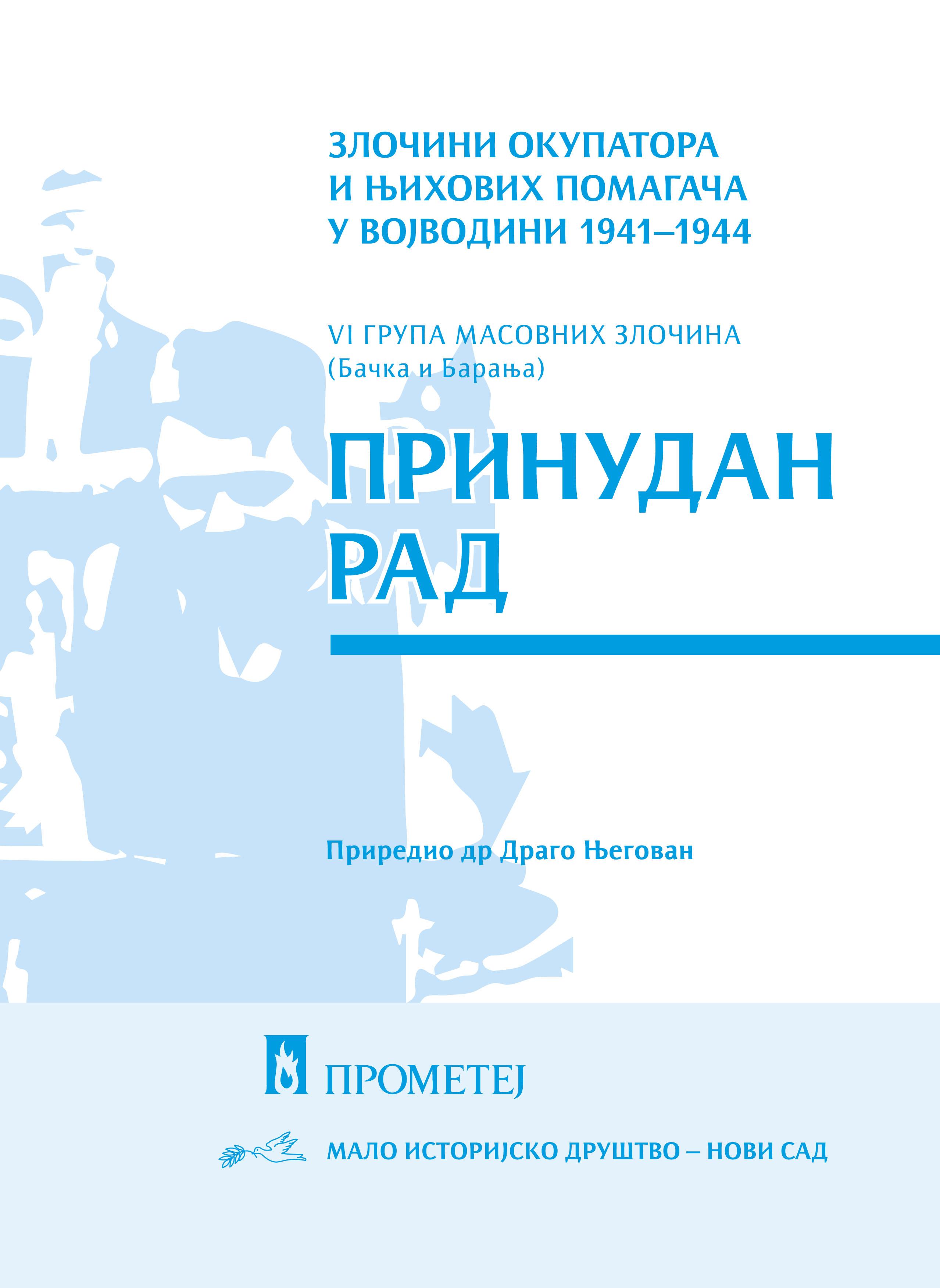 Злочини окупатора и њихових помагача у Војводини 1941-1944, VI група масовних злочина (Бачка и Барања) : принудан рад